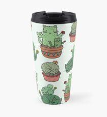 Cactus Cats Travel Mug