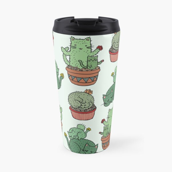 Cactus Cats Travel Mug