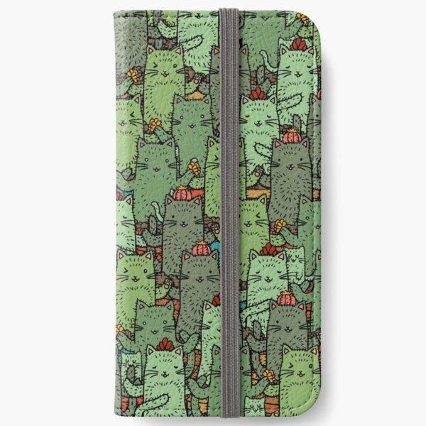 Catcus Garden iPhone Wallet
