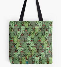 Catcus Garden Tote Bag