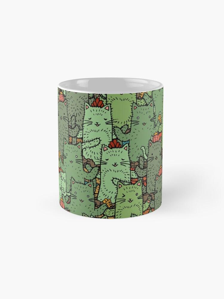 Alternate view of Catcus Garden Mug
