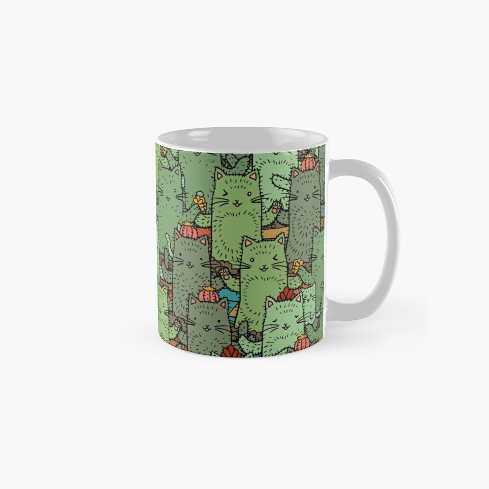 Catcus Garden Mug