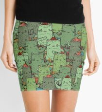 Catcus Garden Mini Skirt