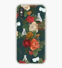 Chemie mit Blumen iPhone-Hülle & Cover