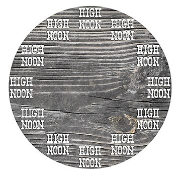 High Noon Clock by Neon2610