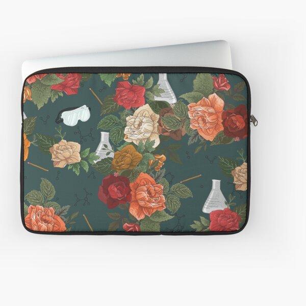 Chemistry Floral Laptop Sleeve
