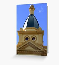 Albert Hall Dome Launceston Greeting Card