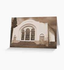 John Hart Conservatory Greeting Card