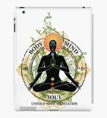 Yoga : Mind Body and Soul KUNDALINI iPad Case/Skin