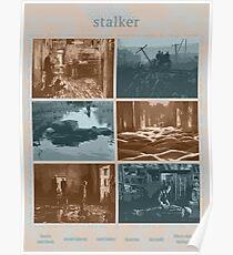 Stalker movie poster #2 Poster