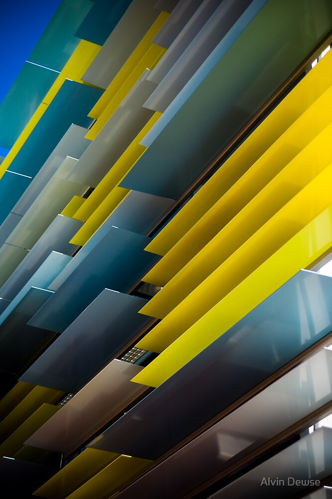 Blue and Yellow by Alvin Dewse