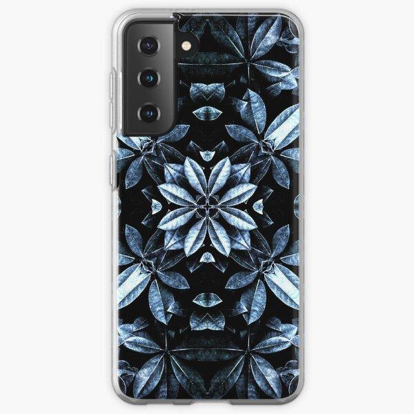 Metallic Leaves Mandala Samsung Galaxy Soft Case