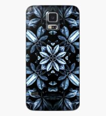 Funda/vinilo para Samsung Galaxy Hojas metálicas Mandala