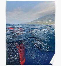 Croatia - Adriatic - Water - Bubbles Poster