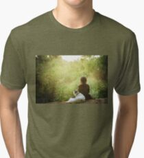 They Lived To See The Dawn Tri-blend T-Shirt