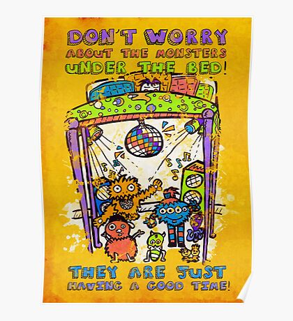 You don't need to worry...  Poster