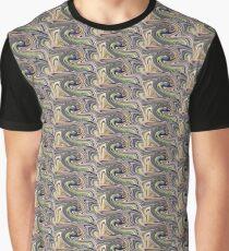 Nature's Illusions- Pastel Swirls  Graphic T-Shirt