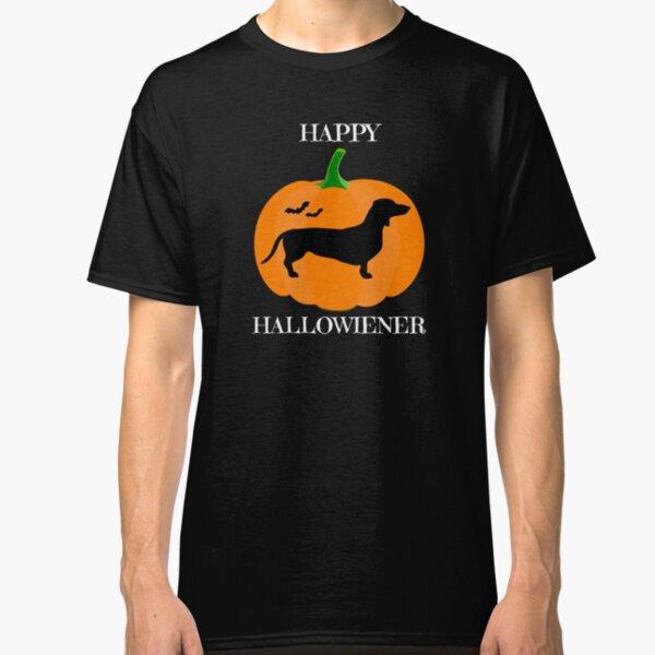 Happy Halloweiner Funny Hot Dog Halloween Toddler Kids T-Shirt JACK O LANTERN
