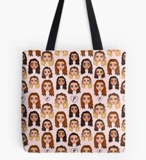 Chibi Pattern LM Touch Tote Bag