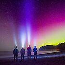Aurora at Rialto Beach by Jason Heritage