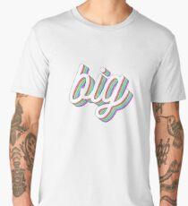 3D layered - big Men's Premium T-Shirt