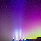 Aurora at Rialto Beach-2 by Jason Heritage