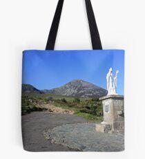 Croagh Patrick mountain Tote Bag