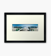 Puget Sound Panorama Framed Print