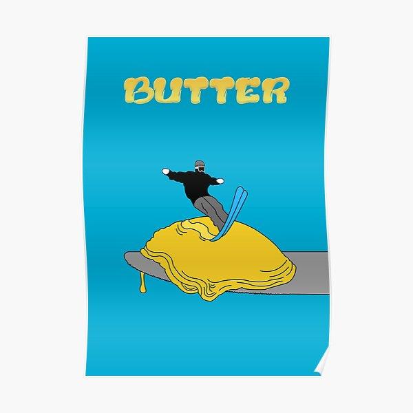 Affiche de beurre Poster