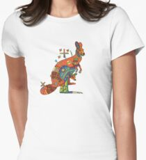 Kangaroo, from the AlphaPod collection Women's Fitted T-Shirt