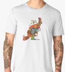 Kangaroo, from the AlphaPod collection Men's Premium T-Shirt