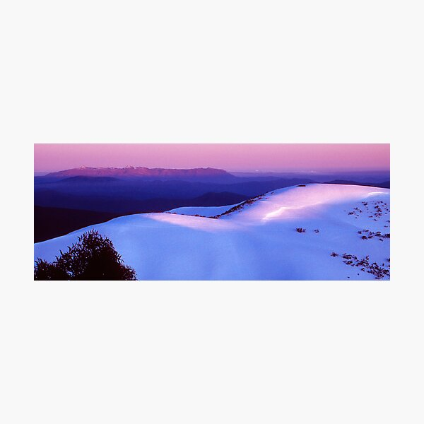 Mount Buffalo Plateau from Mount Hotham Photographic Print