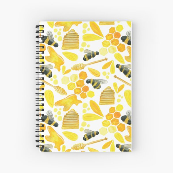The Bee's Knees Spiral Notebook