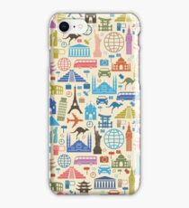 Icons of Travel iPhone Case/Skin