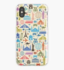 Icons of Travel iPhone Case