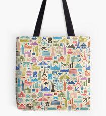 Ikonen der Reise Tasche
