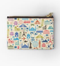 Icons of Travel Studio Pouch
