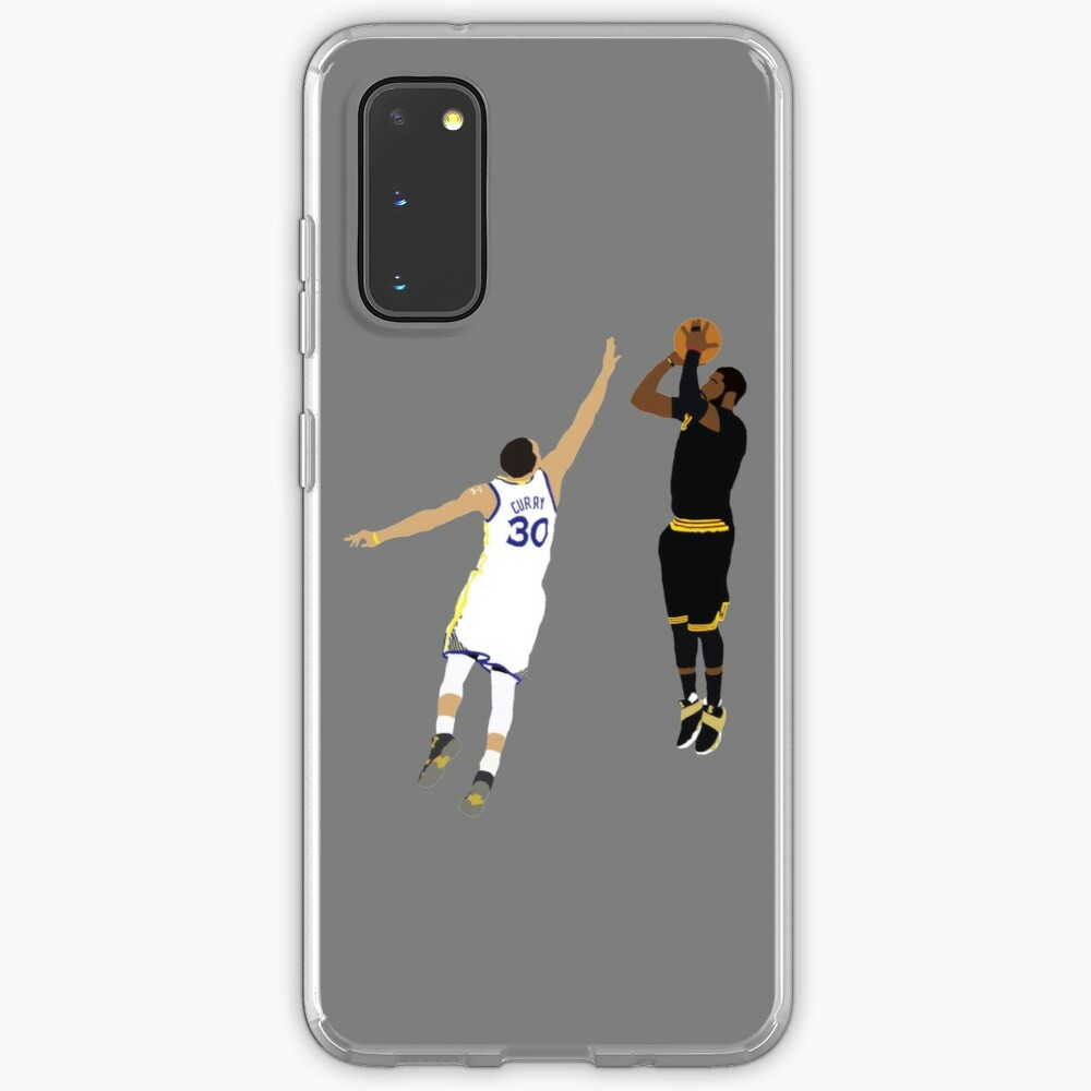 Kyrie Irving Clutch Shot Over Stephen Curry Case & Skin for Samsung Galaxy