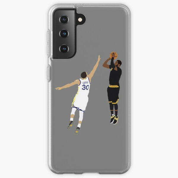 Kyrie Irving Clutch Shot Over Stephen Curry Samsung Galaxy Soft Case