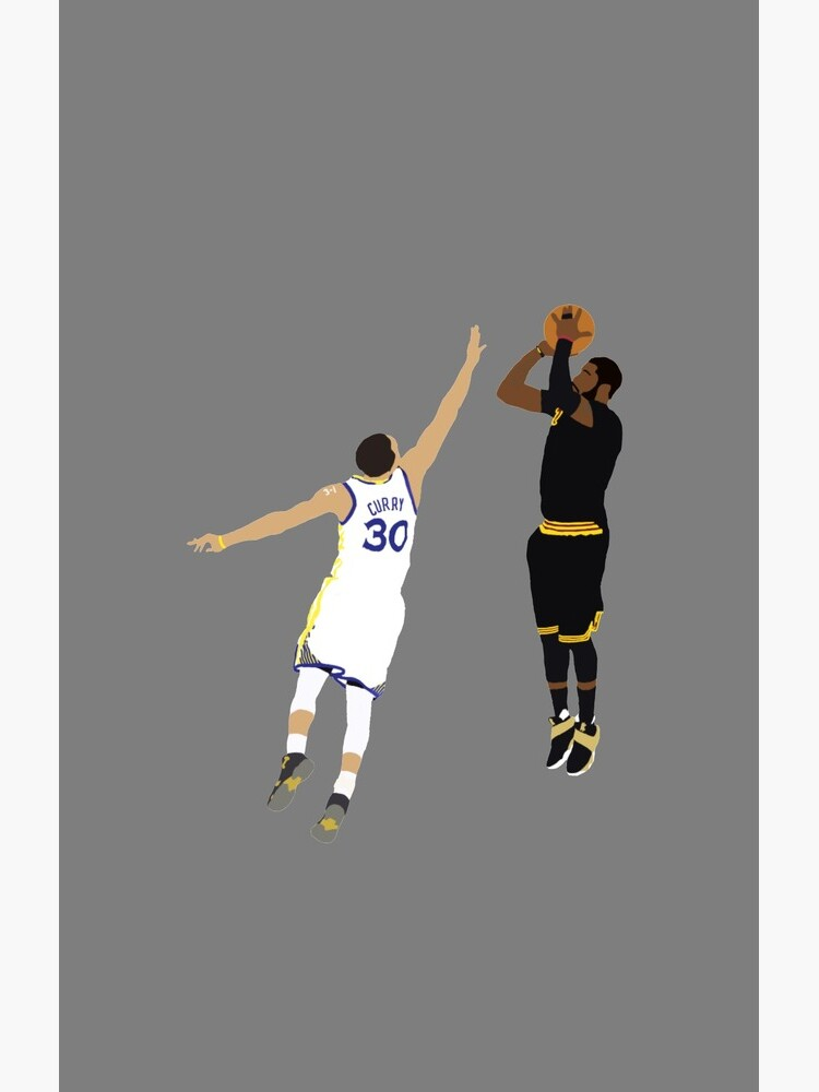 Kyrie Irving Clutch Shot Over Stephen Curry by RatTrapTees