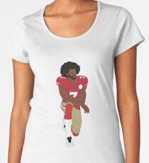 Colin Kaepernick Kneeling  Women's Premium T-Shirt