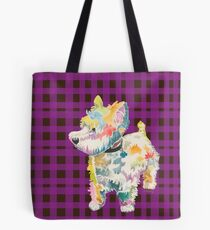 Riley (a dog of new york) Tote Bag
