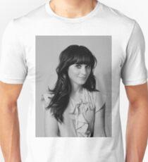 Zooey Deschanel Slim Fit T-Shirt