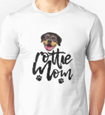 Dog Breed Rottie Mom T-Shirt