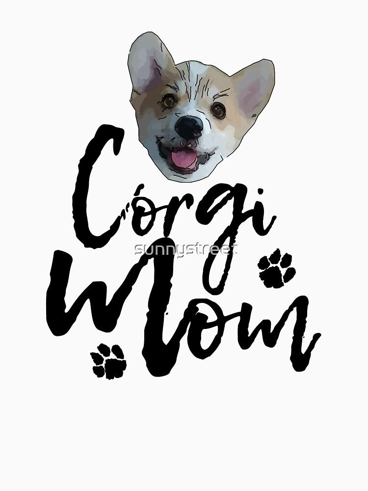 Dog Breed Corgi Mom by SunnyStreet