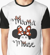 Mama Mouse Shirt Graphic T-Shirt