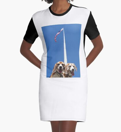 Unsurmountabeagle Graphic T-Shirt Dress