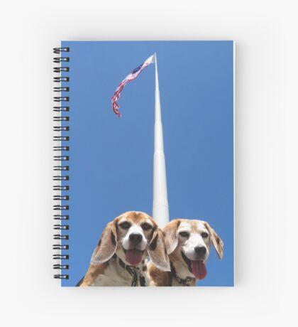 Unsurmountabeagle Spiral Notebook