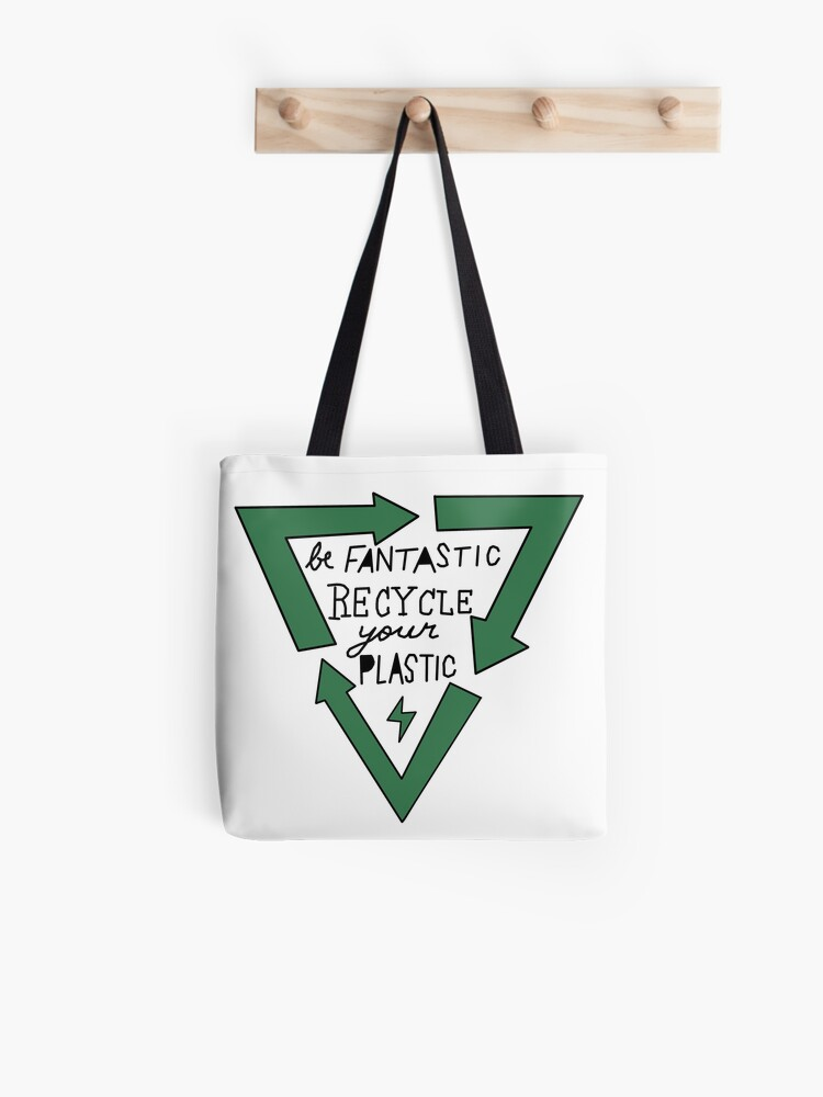 Don/'t Be Trashy Recycle Tote bag