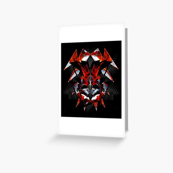 Red Exo 034303 Greeting Card